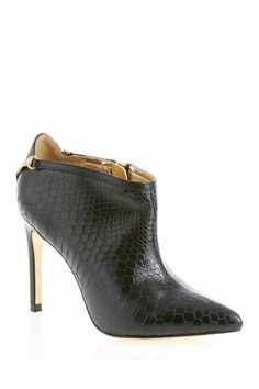 These stiletto booties are sleek and sexy