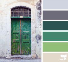 a door palette - design seeds