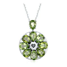 Smart Necklace Collection Gemstone Crystal | Totwoo ❤ liked on Polyvore featuring jewelry, necklaces, crystal gem jewelry, gem jewelry, gemstone jewellery, floral jewelry and crystal jewellery