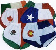 Flag Running Shorts