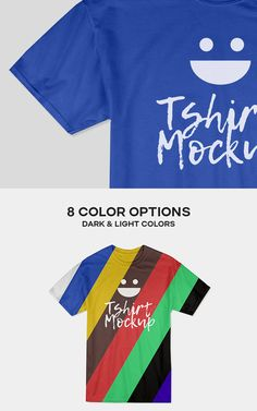 Free Photorealistic Cotton T-shirt Mockup PSD Template