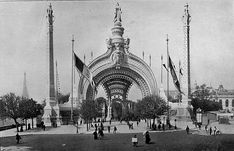 """La Belle Epoque- """"The Beautiful Era"""" A period in French history from 1871-WW1 of peace and prosperity. Time of the World Fair of 1900, Moulin Rouge, and the Effiel Tower was built."""