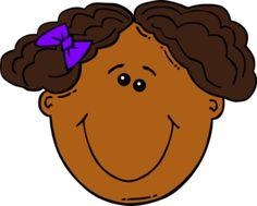 Cartoon Girl Face clip art Cartoon clip art Cartoon faces Happy face cartoon