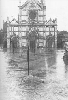 Firenze - Basilica di Santa Croce - Alluvione di Firenze 66