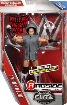 Tyson Kidd - WWE Elite 40 WWE Toy Wrestling Action Figure by Mattel!