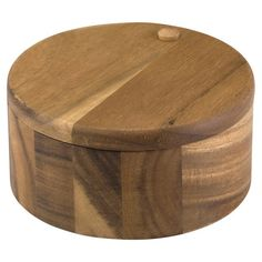 Perfect for keeping salt and pepper on the table or storing herbs in the pantry, this acacia wood box brings chef-worthy style to your kitchen. ...
