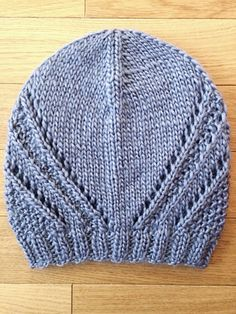 Mirror Mountain Beanie - Free knit beanie pattern at Killer Crafts Co - Hat knitting patterns - Baby Knitting Patterns, Knitting Designs, Free Knitting, Crochet Patterns, Knitting Ideas, Beanie Pattern Free, Free Pattern, Knitted Hats, Crochet Hats
