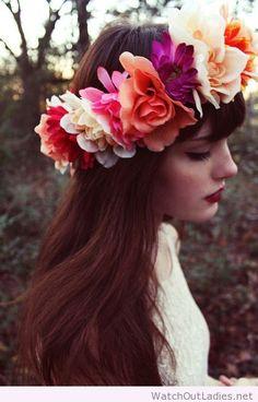 Flower crown design
