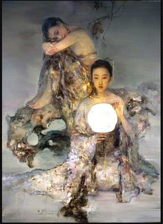 He artist  Hu Jundi (Chinese: 1962)