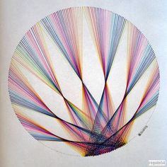 Resultado de imagen de geometric string art patterns