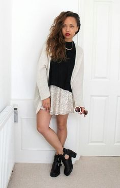 Cardi – Brandy Melville Top – Topshop Skirt – Missguided* Boots – Topshop (similar) Necklace – H&M Sunnies – Urban Outfitters I've had a few obsessions recently, One are these… Casual Outfits, Summer Outfits, Fashion Outfits, Samantha Maria, Beauty Crush, Topshop Skirts, Love Her Style, Spring Looks, Minimalist Fashion