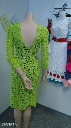 More than 50 free crochet dress patterns to print for women in all different shapes and sizes! Lace crochet dresses, sundresses, party dresses and more! Crochet Bodycon Dresses, Black Crochet Dress, Crochet Skirts, Crochet Clothes, Crochet Lace, Knit Dress, Mode Crochet, Crochet Woman, Beautiful Crochet