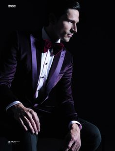 Andres Velencoso Segura photographed by Milan Vukmirovic for  L'Officiel Hommes China editorial.Stylist Ivan Bontchev.