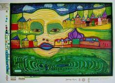 Tekenlesjes: Hundertwasser