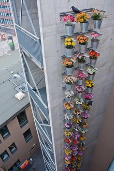 The side of the Superbude Hotel in Hamburg Germany