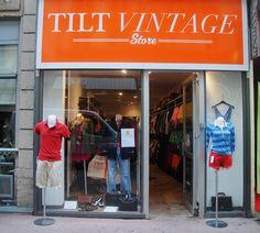 Tilt Vintage Second Hand Store in Paris