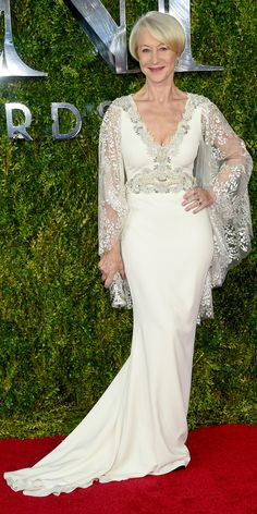 Tony Awards 2015: See All the Best Looks - Helen Mirren from #InStyle Gorgeous!!!