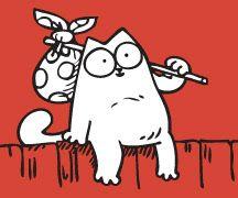 Roque Vega - cuentos: Simon's cat - curiosidad