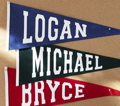 personalized flags (chase)