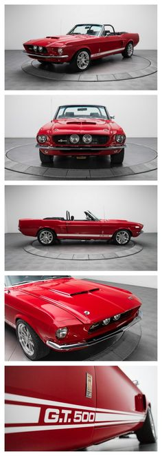 This beautifully restored GT500 easily carries on the Shelby spirit by looking awesome and punishing pavement with the best of them. #ClassicCool