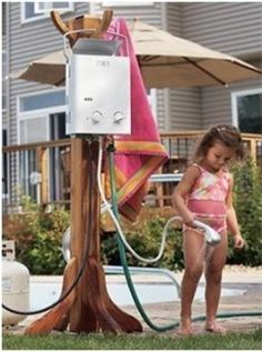 Sportsman's Guide has your Eccotemp GPM Portable BTU Liquid Propane Outdoor Tankless Water Heater available at a great price in our Portable Toilets & Showers collection Diy Shower, Camp Shower, Shower Ideas, Portable Toilet, Tiny House Cabin, Fishing Supplies, Remodeled Campers, Shower Remodel, Tent Camping
