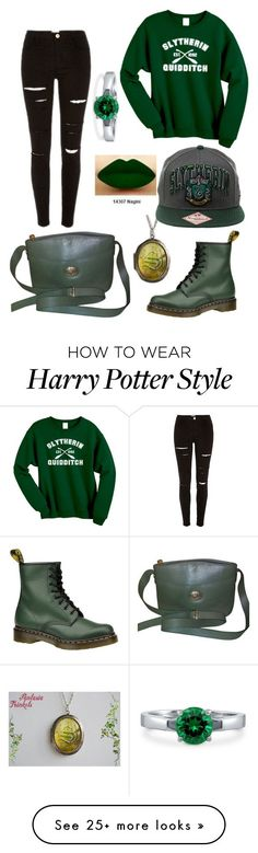 """""""Untitled #19"""" by catalinaloete on Polyvore featuring Burberry, BERRICLE and Dr. Martens"""