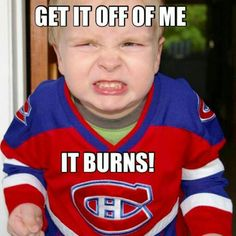 This poor kid - thats child abuse lol GO LEAFS! Hockey Memes, Hockey Quotes, Sports Memes, Funny Hockey, Maple Leafs Hockey, Hockey Baby, Hockey Season, Toronto Maple Leafs, Montreal Canadiens
