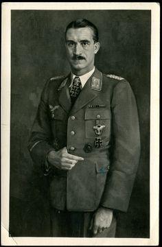 "Adolf ""Dolfo"" Joseph Ferdinand Galland (March 19, 1912-February 9, 1996) German Aviator Luftwaffe Germany"