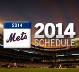 Mets 2014 Schedule - For Colin. They have a home stretch around Memorial Day