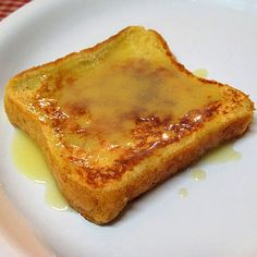 eggnog french toast with eggnog syrup