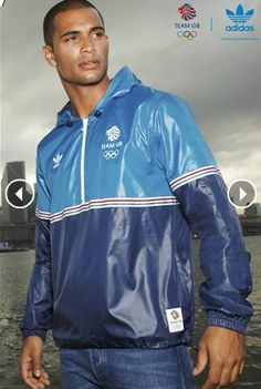 Adidas Originals 2012 Blue Podium Track Top. I bought one of these from London, and made it one of my 'cagoule of the week'