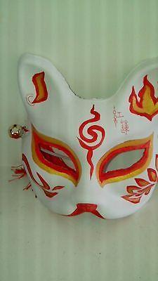 Japanese style fox mask party mask