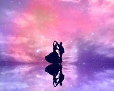 dancing in the moonlight Love Wallpaper, Galaxy Wallpaper, Wallpaper Backgrounds, Dancing In The Moonlight, Disney Phone Wallpaper, Shadow Art, Anime Love Couple, Galaxy Art, Love Illustration