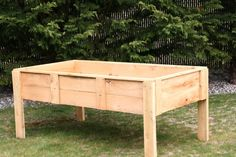 How To Build A Raised Garden Bed With Legs Raised Garden Beds On Legs Modern Diy Art Designs