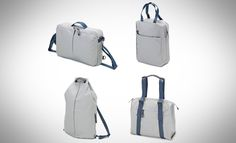 QWSTION Organic Light Grey Simple Office, Simple Pack, Simple Bag and Simple Ziptote