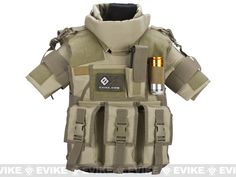 Matrix Tactical Systems High Speed SDEU Vest - Youth Size / Tan, Tac. Gear/Apparel, Body Armor & Vests, Tan / Desert - Evike.com Airsoft Superstore