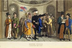 Doctor Syntax inspecting the Bank: 1820