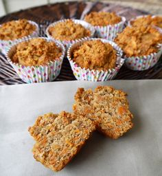 Carrot Cake Breakfast Muffins (paleo, gluten-free) | Perchance to Cook...