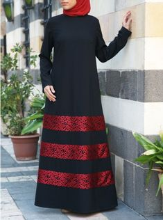 Red Lace Abaya Hijab hijab requirements in islam Abaya Fashion, Modest Fashion, Fashion Outfits, Mode Abaya, Mode Hijab, Moslem Fashion, Abaya Designs, Moroccan Dress, Hijab Fashion Inspiration