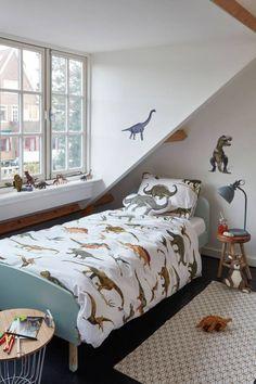 Bestel nu kinder dekbedovertrek dinosaurus van Beddinghouse direct op Hipdekbedovertrek.nl. Dekbedovertrek met dino's.