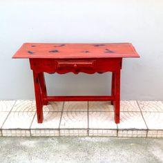 Pintura Envelhecida em Móveis de Madeira | Além da Rua Atelier