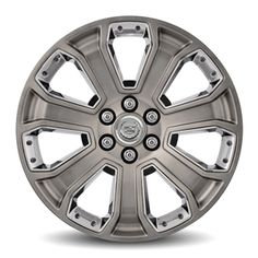 Escalade 22in Wheel, CK190, SINGLE:Personalize your All New Escalade with these 22-Inch GM Accessory Wheels. Use only GM-approved wheel and tire combinations.