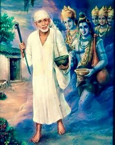 Om Sai Ram x Sai Baba Pictures, Sai Baba Photos, God Pictures, Saints Of India, Sai Baba Wallpapers, Religion, Sathya Sai Baba, Lord Shiva Family, Baba Image