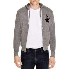 Creative Goods Hamilton Zip Front Hoodie ($70) ❤ liked on Polyvore featuring men's fashion, men's clothing, men's hoodies, grey, mens hoodies, mens sweatshirts and hoodies and mens grey hoodies