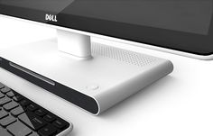 Design Language Concept for Dell Inspiron 2012 on Behance Technology Gadgets, Tech Gadgets, Id Design, Detail Design, Pc Speakers, All In One Pc, Computer Equipment, Tv Display, Dell Computers