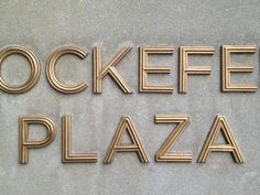 Art Deco ABCs | Front & Center at Rockefeller Center