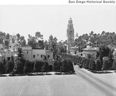 Plaza de Panama in 1935.