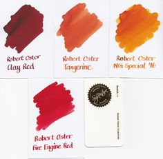 Robert Oster Signature Ink displayed by fountainfeder.eu