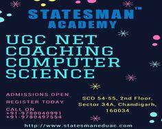 CSIR UGC NET Coaching For Computer Science - Statesman Academy