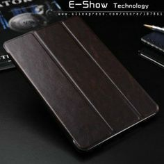 Luxury Genuine leather case for ipad mini with stand fuction sleep and wake up model smart case for ipad mini free gift $12.56